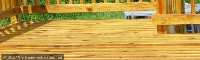 Deck Cleaning Jacksonville, NC